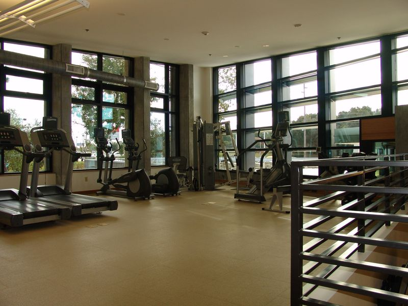 Gym from Stairs