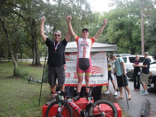 Steven - FL Cat 3 Time Trial Champion 10.8.11