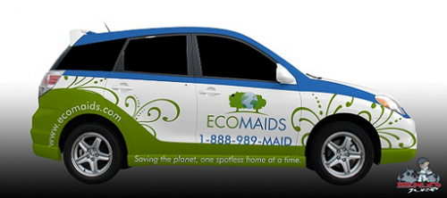 Eco-car-wrap